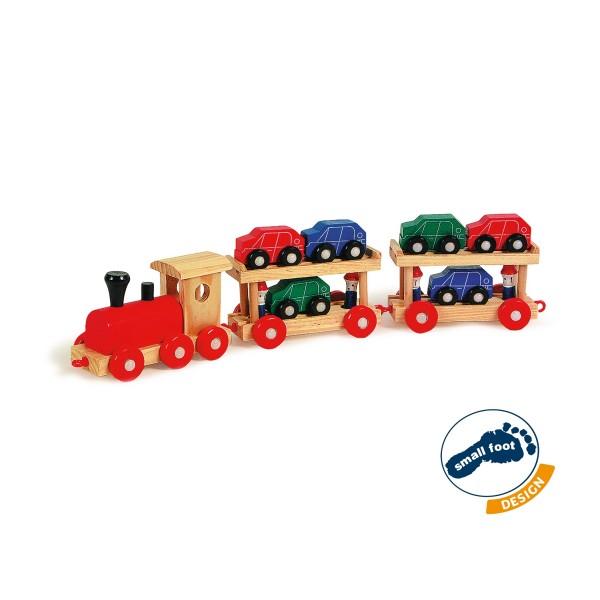 Spielzeug Autoreisezug 48 cm mit Autos