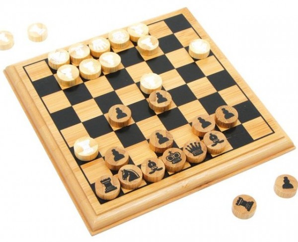 Schach rund, BALD MATT