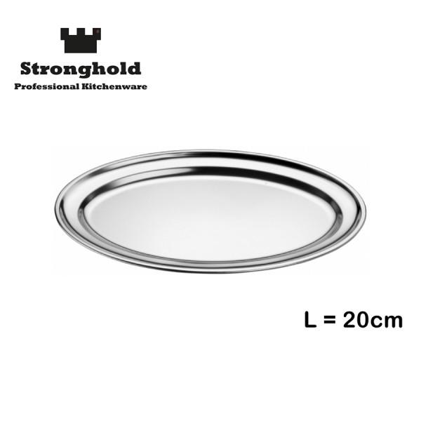 Edelstahl Tablett 20cm, von Stronghold
