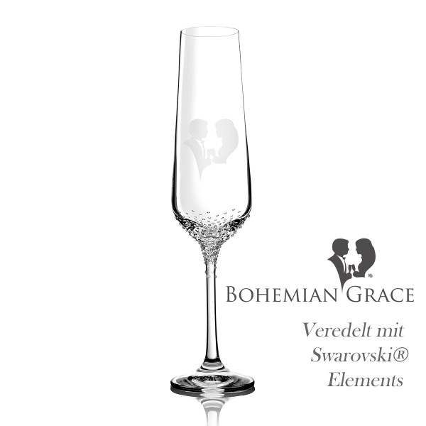 Sektglas GRACE von Bohemian Grace