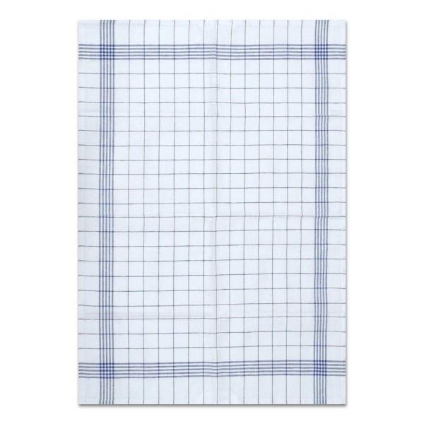 torchon vaisselle bleu,carr.,50x70,10pc