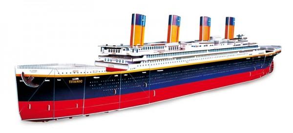 3D-Puzzle RMS Titanic Dampfschiff
