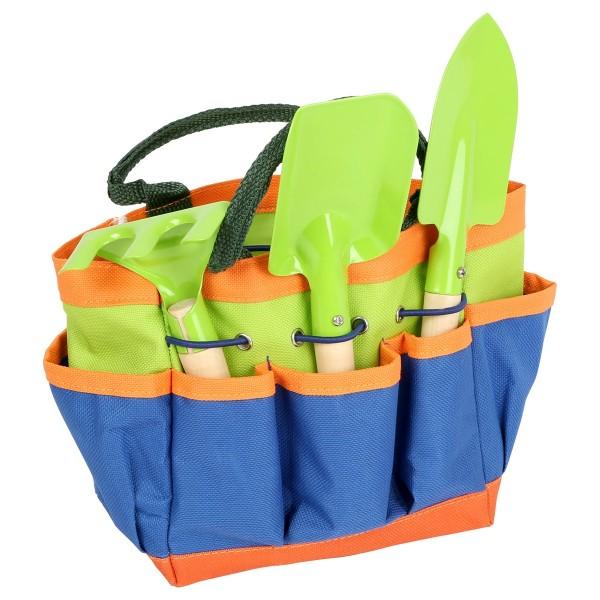 Kinder Gartengeräte Set BASIC mit Tasche