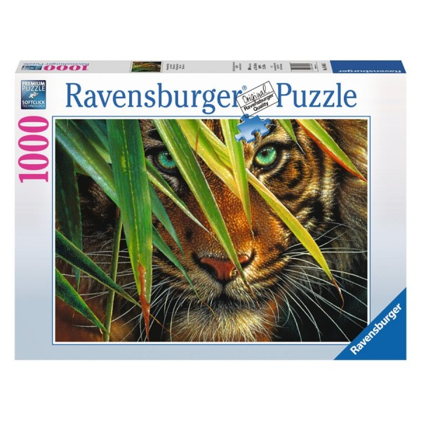 Ravensburger Puzzle, mysteriously Tiger