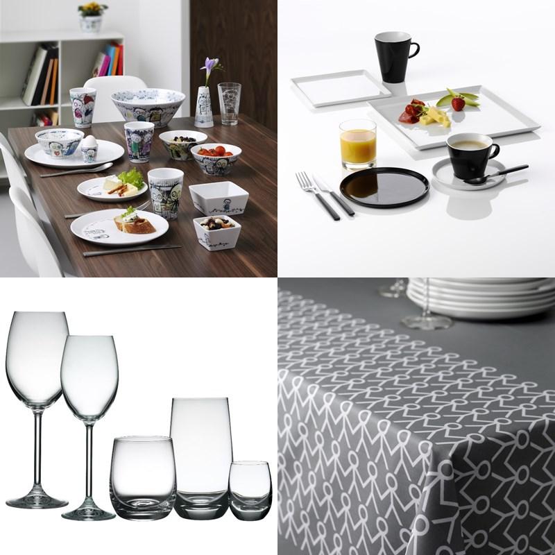 ess wohnzimmer gedeckter tisch. Black Bedroom Furniture Sets. Home Design Ideas