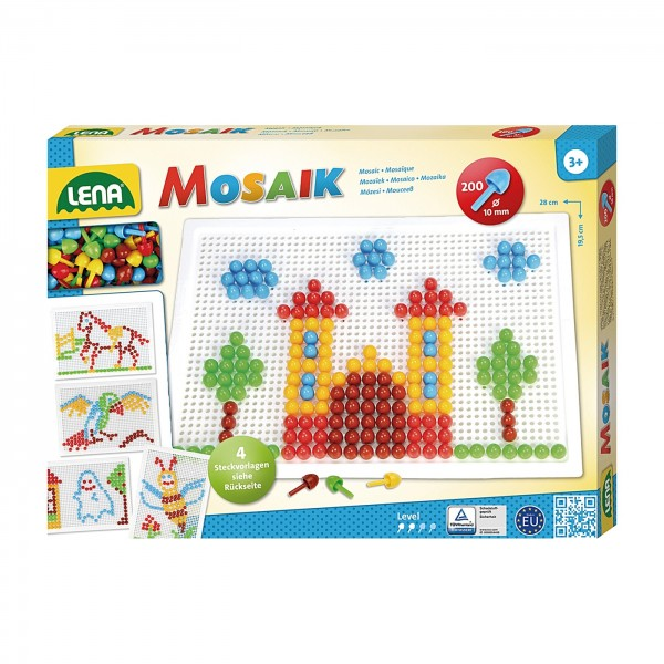 Set Mosaïque Color 200 pcs. - LENA
