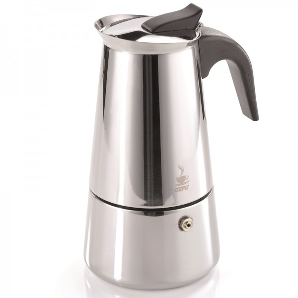 Kaffeekocher Emilio,6 Tassen,Edelstahl
