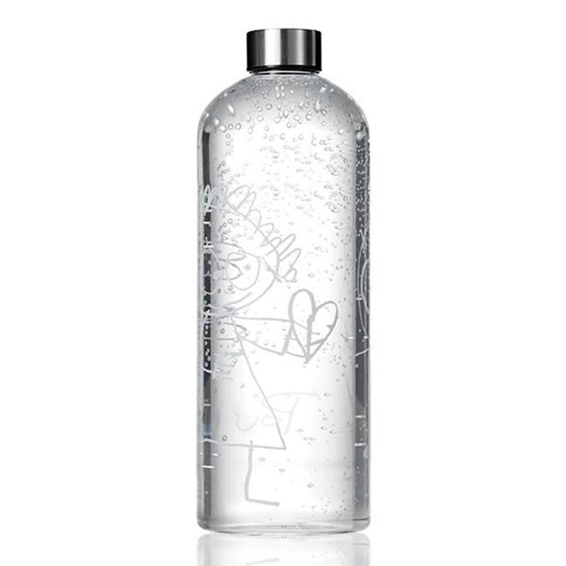 Poul Pava Pure Friends Glasflasche 15l M Schraubverschluss