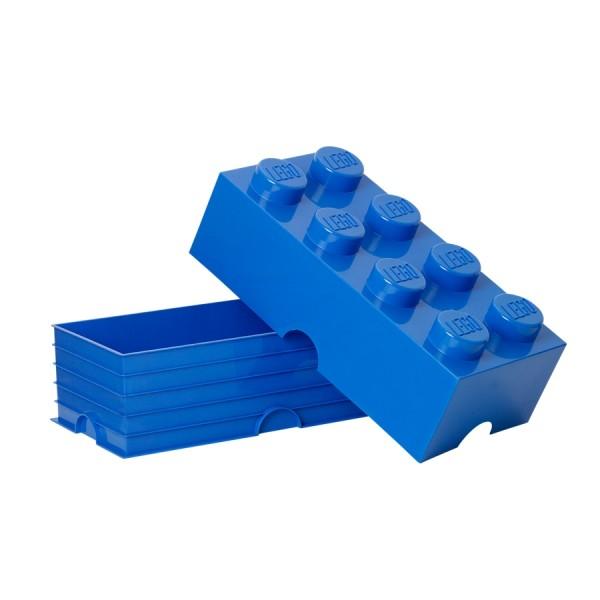 XXL Lego Aufbewahrungsbox 8 Noppen, Blau