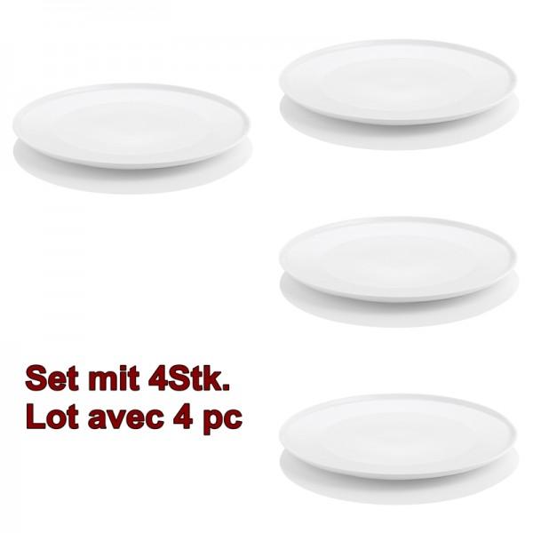 ENSO 4pc. assiettes plate 26cm, à manger