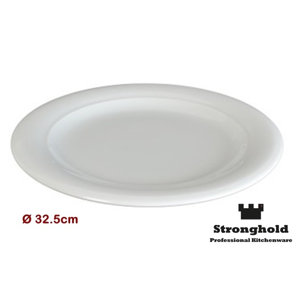 Runde Gastro- Teller 32.5cm, Porzellan