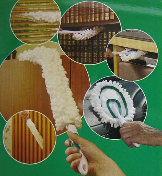 Reinigungsset mit Mikrofaser Mop, Duster