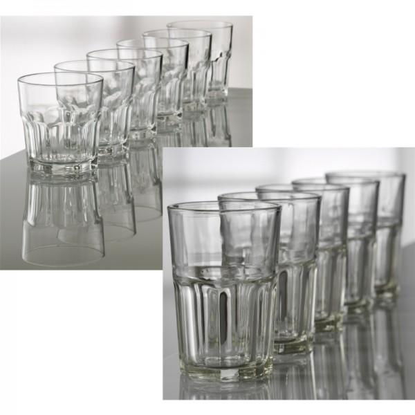 verre ATELIER 12pc verres 6x28cl+6x36cl