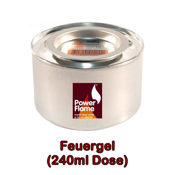 Feuergel 240ml Dose PowerFlame