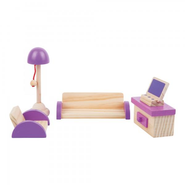 Puppenhausmöbel Stube / Wohnzimmer