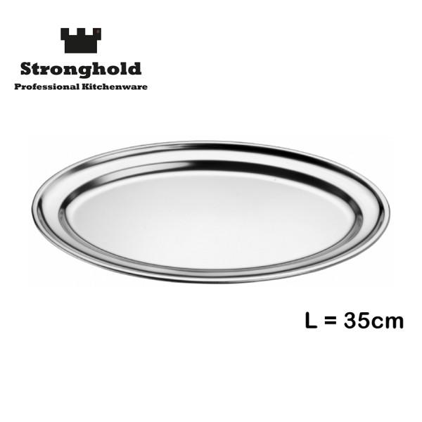 Edelstahl Tablett 35cm, von Stronghold