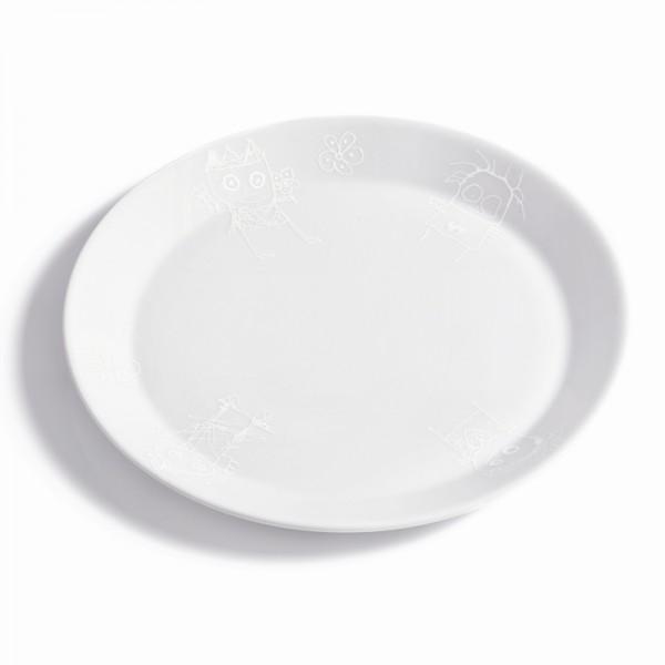 PAVA pure friends assiette lunch 22cm,2p