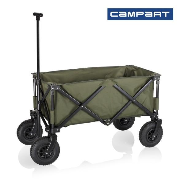 Chariot à bagages pliable et pneumatique