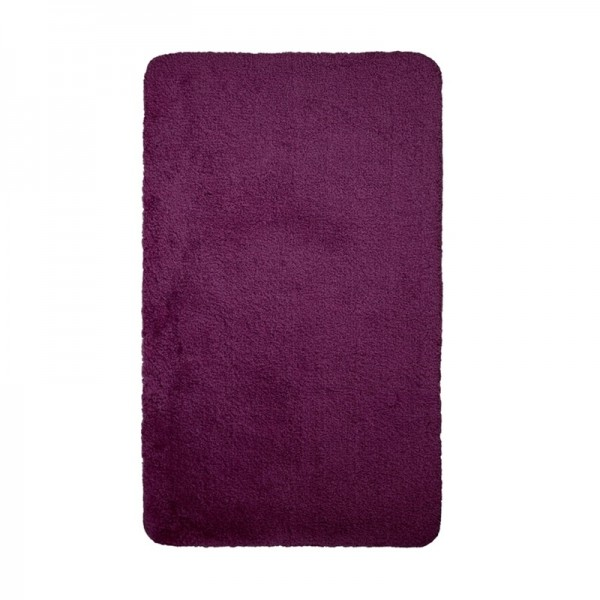OPAL rouge vino tapis de bain 60x100cm