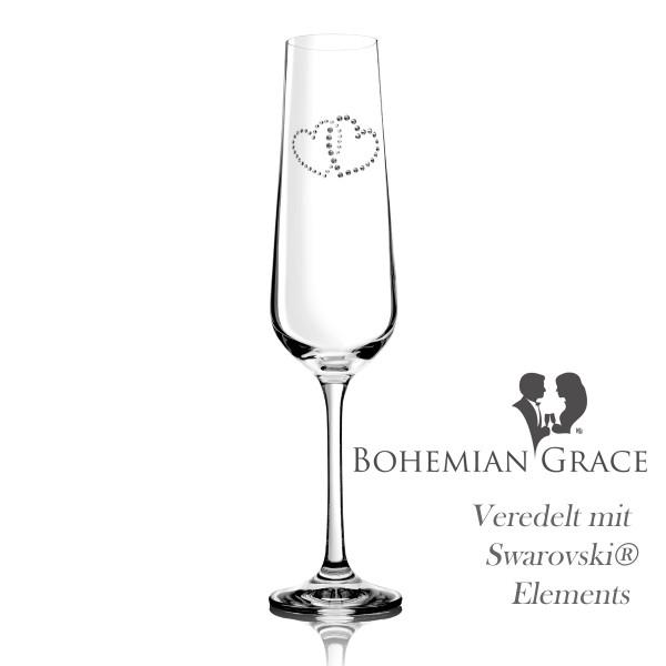 Sektglas METTA von Bohemian Grace
