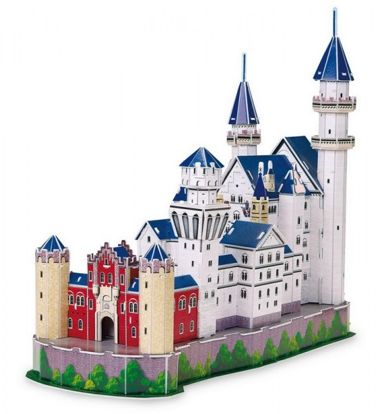 3D-Puzzle Schloss Neuschwanstein