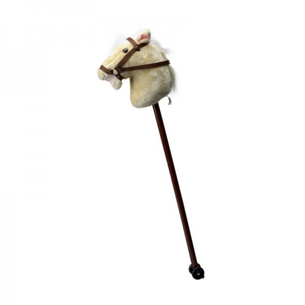 Cheval bâton en peluche - BELUGA