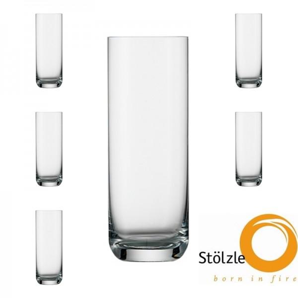 Glas, CLL, 6x Highballgläser, 400