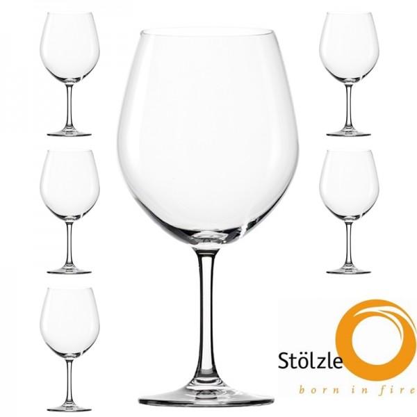 Glas, CLL, 6x Rotweinballon Gläser, 770