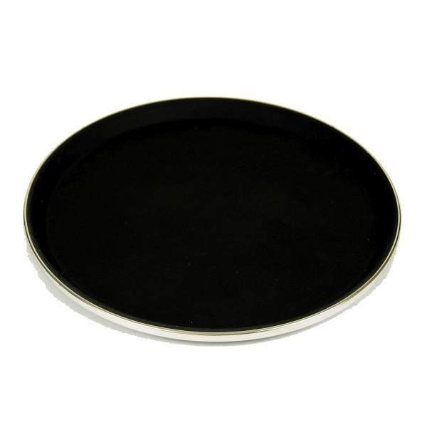 Serviertablett, Antirutsch rund, 41cm