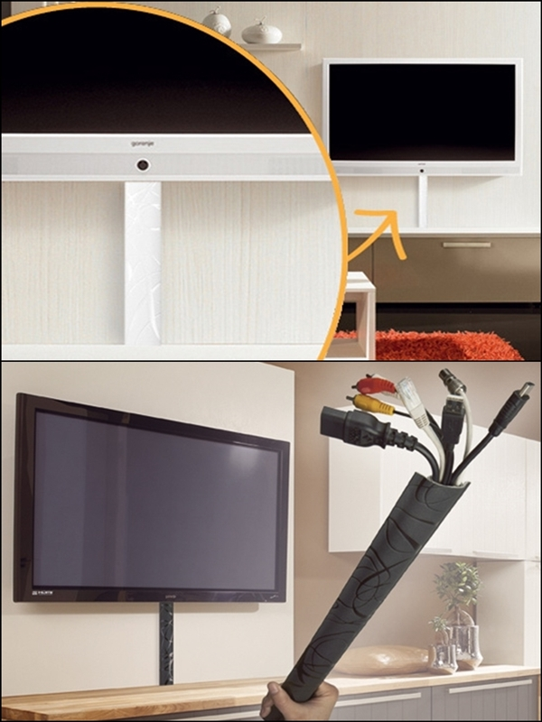 kabelkanal wall decor weiss kabelschacht selbstklebend. Black Bedroom Furniture Sets. Home Design Ideas