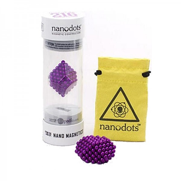 Nano dots Violett Edition 216Stk. Kugeln