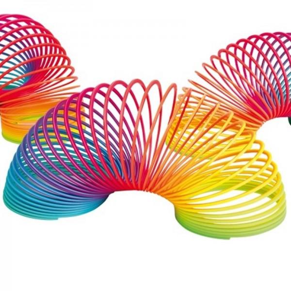 Jouet -Spirale arc en ciel-