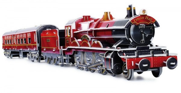 3D-Puzzle Dampflok mit Zug