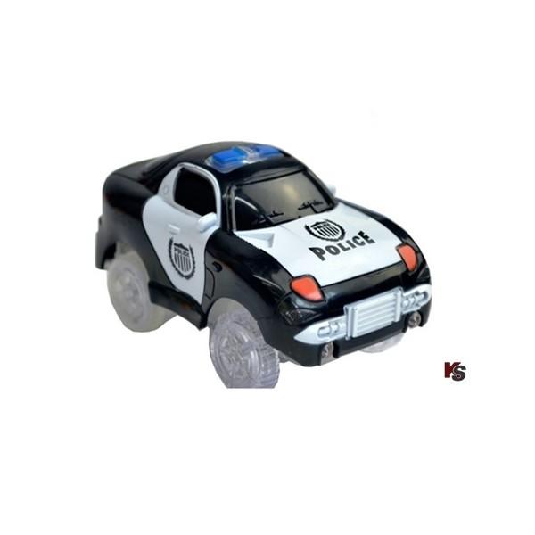 Polizeiauto schwarz für Magic Tracks etc