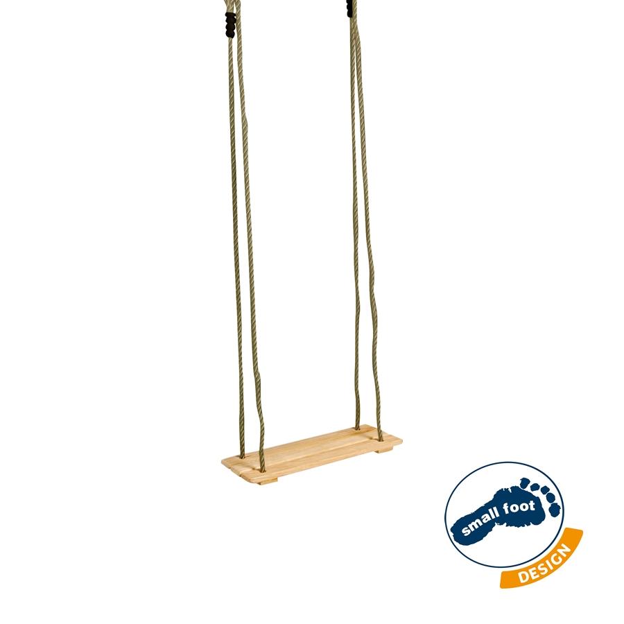 brettschaukel sitz mit h henverstellbaren seilen small foot. Black Bedroom Furniture Sets. Home Design Ideas