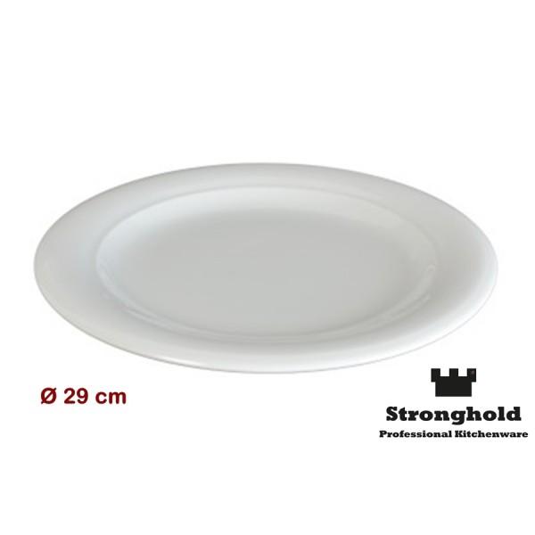 Runde Gastro- Teller 29cm, Porzellan