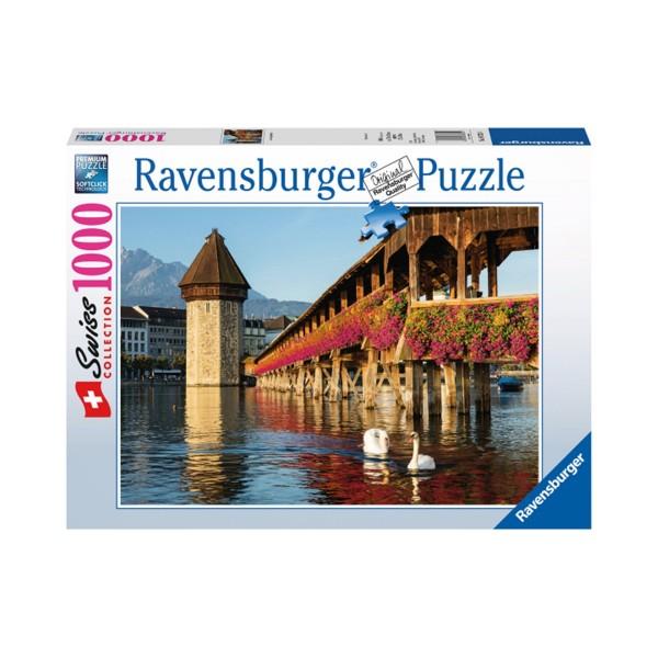 Ravensburger Puzzle 1000 - Kapellbrücke