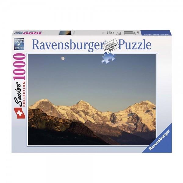 Ravensburger Puzzle 1000 Monts Eiger etc