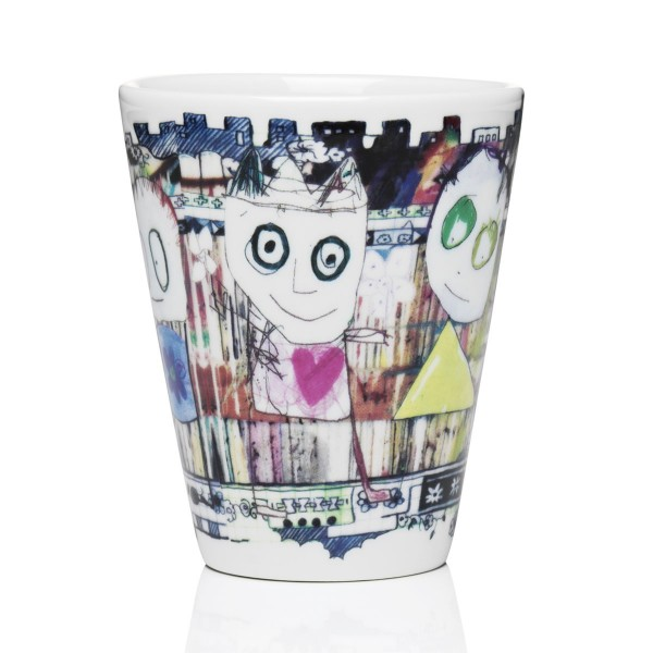 POUL be friends-city 2Stk. Becher 25cl