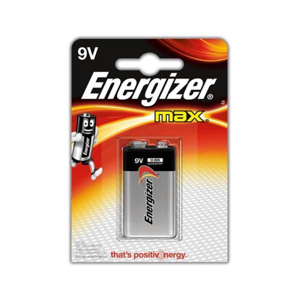Energizer Powerseal Batterien 9V 1Stk.