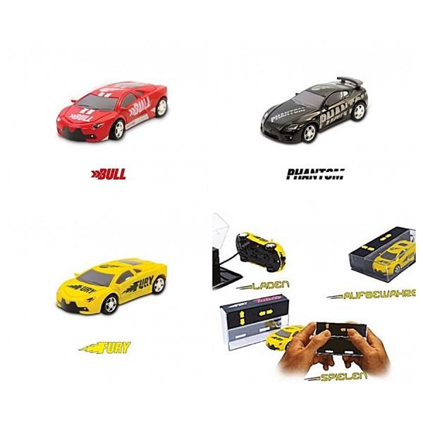 Pocket Racers 3er Set Spielfahrzeuge