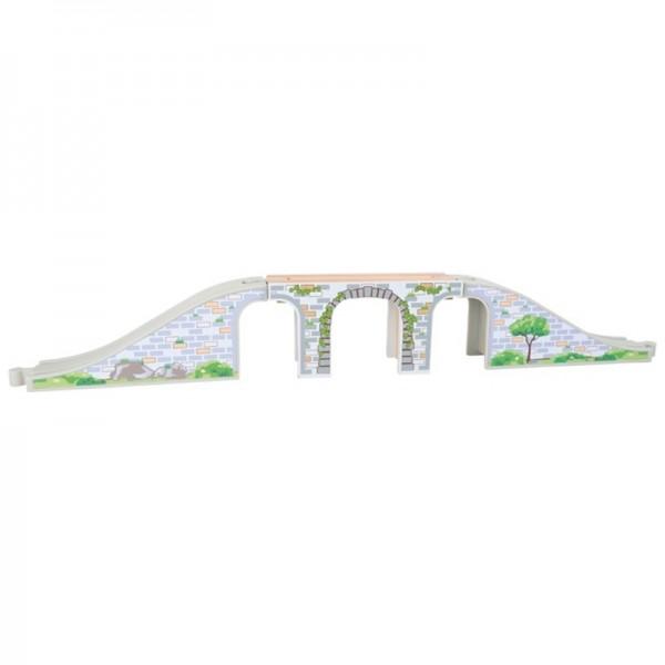 Holzeisenbahn, Eisenbahnzubehör Brücke