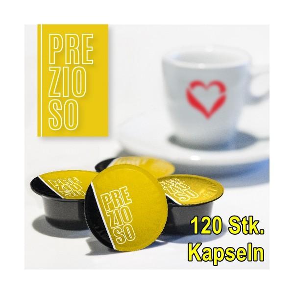 Kaffekapseln 120 Stk. Nosy Prezioso