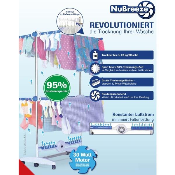 MediaShop NuBreeze Wäschetrockner