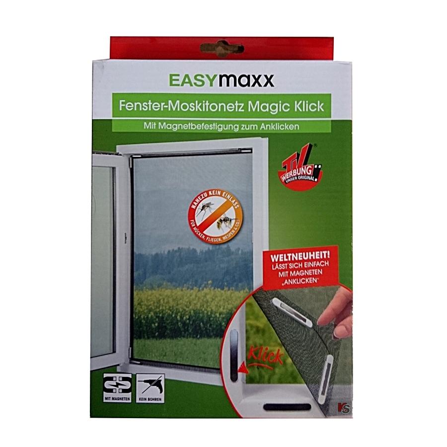 Magic Klick Fenster Insektennetz Mit Magnetbefestigung Kochshop Ch Haushalt Spielwaren Geschenke Versand Und Fachgeschaeft