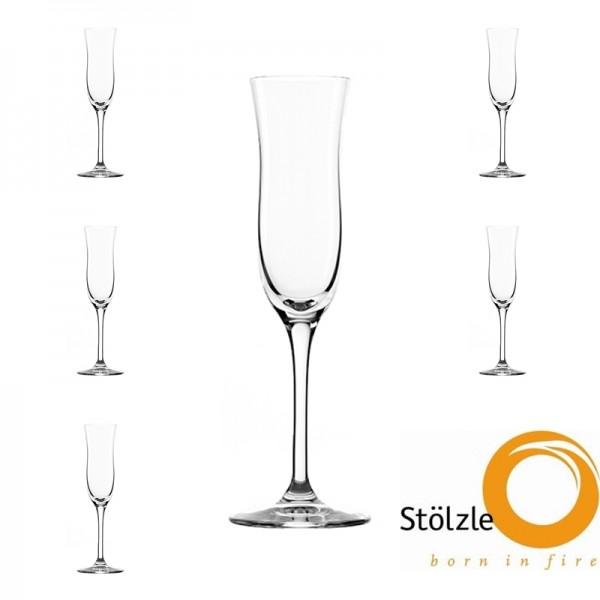 Glas, CLL, 6x Grappagläser, 100