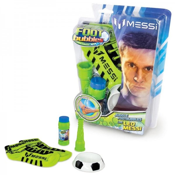 Messi FootBubbles Komplettset Grün