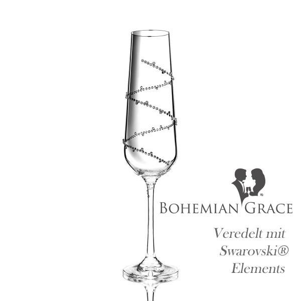 Sektglas TETHYS von Bohemian Grace