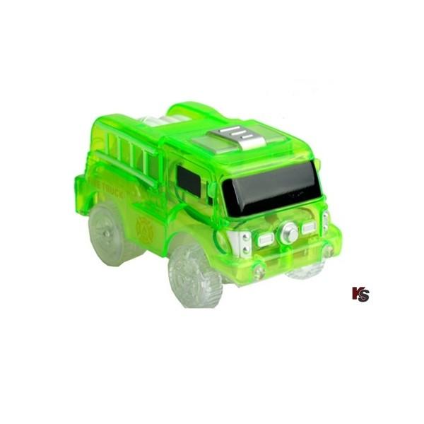 Feuerwehrauto Grün zu Carrera Strax etc