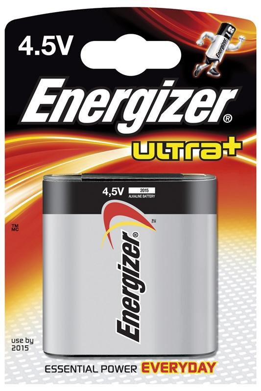 ULTRA+ Batterie, Batterien Typ 4.5V 1Stk. // ENERGIZER ULTRA+ Batterien 4.5V 1Stk.